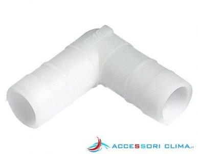 Curva a 90° per tubo condensa