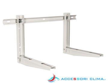 Staffe per condizionatori premontate AC11 450x400x800 mm 130 kg