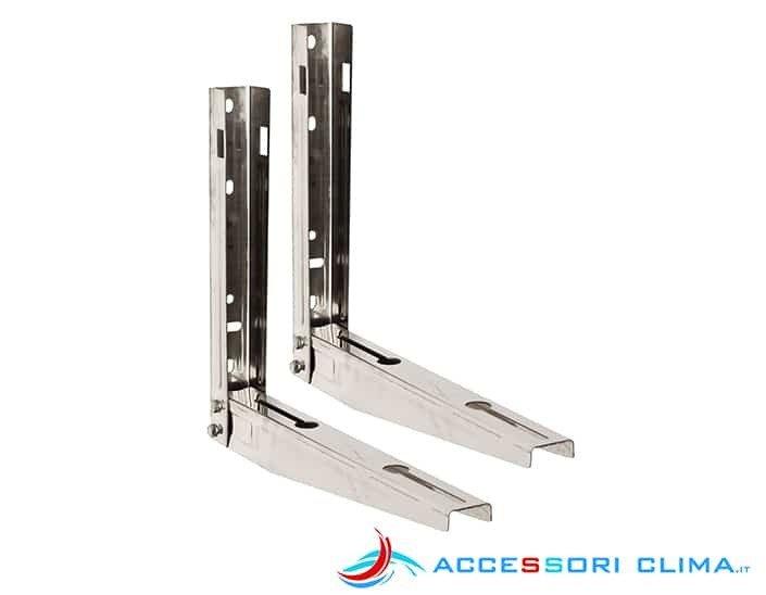 Staffe per condizionatori acciaio inox